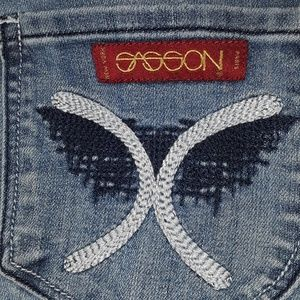 VINTAGE Sasson Jean's Oh La La